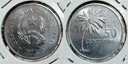 GUINEA-BISSAU 50 CENTAVOS 1977 Km#17 BU (G#05-79) - Guinea-Bissau
