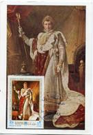 AJMAN CARTE MAXIMUM NAPOLEON 1er EMPEREUR AVEC OBLITERATION MANAMA AJMAN 22 MAY 1971 - Napoleon