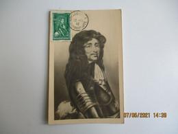 1942 Monaco Charles Goyon De Matignon C M Cm Carte Maximum - Cartas Máxima