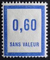 France Fictif N° F47 N** Luxe Gomme D'origine, TTB. Cote 2020 : 2,00 €. Voir Photos Recto Verso ! - Fictie