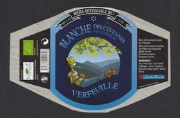 Etiquette De Bière Blanche à La Chataigne  -  Brasserie Verfeuille à Branoux Les Taillades  (30) - Beer