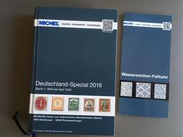 MICHEL Deutschland Spezial 2019 Band 1 1849-1945 Gebraucht - Germany
