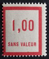 France Fictif N° F49 N** Luxe Gomme D'origine, TTB. Cote 2020 : 3,00 €. Voir Photos Recto Verso ! - Fictie