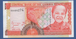 GAMBIA - P.20c – 5 Dalasis ND (2001-2005) UNC - Gambia
