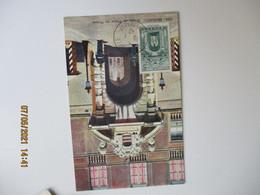 1943 Monaco Entree Palais 5 F    C M Cm Carte Maximum - Cartas Máxima