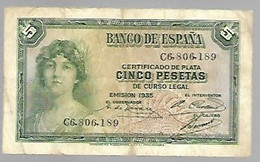 Espagne - 5 Pesetas