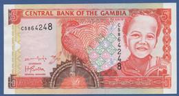 GAMBIA - P.20b – 5 Dalasis ND (2001-2005) UNC- - Gambia