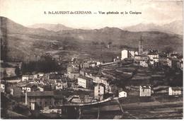 FR66 SAINT LAURENT DE CERDANS - Navarro 8 - Vue Générale Et Le Canigou - Belle - Other Municipalities