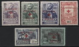 "Portugal (09) 1931 ""Porte Franco"" (Free Postage) Overprints. Mint. - Unclassified"