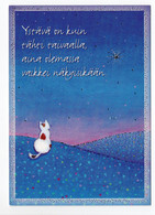MODERN POSTCARD - UNICEF - POSTAL STATIONERY - FINLAND - CAT - USED 2010 - Unclassified