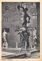 STATUES IN FLORENCE, ITALY. UNUSED POSTCARD Fa7 - Firenze (Florence)