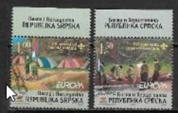 Bosnie Serbe 2007 N° 362/363 Neufs Europa Scoutisme - 2007
