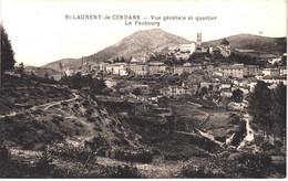 FR66 SAINT LAURENT DE CERDANS - Navarro - Vue Générale Et Quartier Le Faubourg - Belle - Other Municipalities