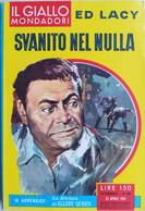 IL GIALLO MONDADORI 1961 N°638 ED LACY- SC.33 - Gialli, Polizieschi E Thriller