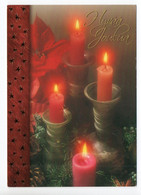 MODERN POSTCARD - UNICEF - POSTAL STATIONERY - FINLAND - CHRISTMAS - BURNING CANDLES - USED  2007 - Unclassified