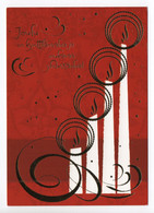 MODERN POSTCARD - UNICEF - POSTAL STATIONERY - FINLAND - CHRISTMAS - CANDLES - USED  2015 - Unclassified