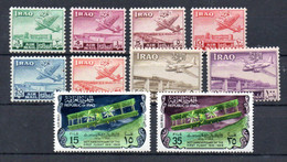 T1-6 Irak PA N° 1 à 8 + 32 Et 33 **  A Saisir !!! - Irak
