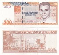 Cuba - 200 Pesos 2018 UNC Lemberg-Zp - Cuba