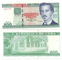 Cuba - 500 Pesos 2019 UNC Comm. Lemberg-Zp - Cuba