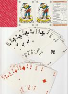 CARTES PUBLICITAIRES : DIFFUSION INTERN. D'ARTS ET LOISIRS/FIGURES ORIGINALES /2JOKERS /CARTA MUNDI BELGIQUE - 54 Cards