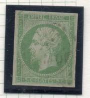 37CRT577 - COLONIE GENERALI 1871 ,  Yvert N. 8 Usato (non Lauree). ASSOTTIGLIATO. MARTINIQUE - Napoleon III