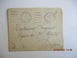 Flamme Garcia Paris 80 Rue Dupin Lettre - 1921-1960: Periodo Moderno