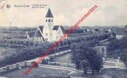 L'Eglise Et Villas - Kerk En Villas - Knokke - Knokke