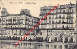Grand Hôtel De La Plage - Knokke - Knokke