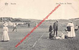 Une Partie De Tennis - Knokke - Knokke