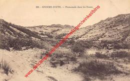 Promenade Dans Les Dunes - Knokke - Knokke
