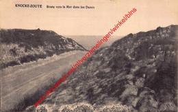 Route Vers La Mer Dans Les Dunes - Knokke - Knokke