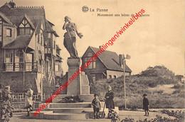 Monument Aux Héros De La Guerre - De Panne - De Panne