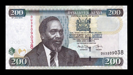 Kenia Kenya 200 Shillings 2010 Pick 49e SC UNC - Kenya