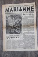 JOURNAL MARIANNE DU 7 AOÛT 1940 VICHY PÉTAIN - Französisch