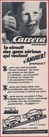 Solido. Carrera Universal. Circuit Automobiles. Jouet. 1970. - Publicités