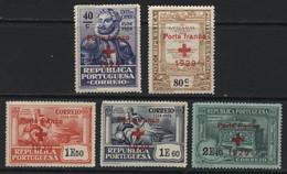 "Portugal (17) 1929 ""Porte Franco"" (Free Postage) Overprints. Mint. - Unclassified"
