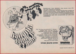 Banania Donne Le Rythme. Banania Période Hippy. 1970. - Publicités