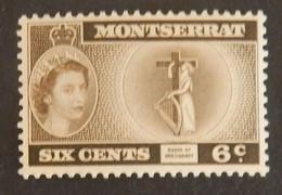 MONTSERRAT YT 136 NEUF** ANNÉES 1955/1957 - Montserrat