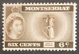 MONTSERRAT YT 136 NEUF* ANNÉES 1955/1957 - Montserrat