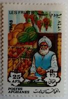 Afghanistan 1988 Fruits Yvert 1412 * MH - Afghanistan