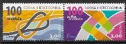 Bosnie 2007 N° 550/551 Neufs Europa Scoutisme - 2007