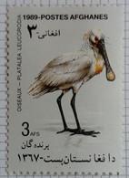 Afghanistan 1989 Animal Oiseau Bird Yvert 1472 * MH - Afghanistan