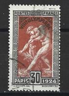 1868 Jeux Olympique De Paris 1924 YT 185 Oblitéré - Usados