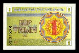 Kazajistan Kazakhstan 1 Tyin 1993 Pick 1c SC UNC - Kazakhstan