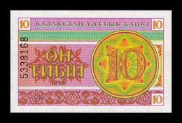 Kazajistan Kazakhstan 10 Tyin 1993 Pick 4b SC UNC - Kazakhstan