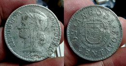 ANGOLA 50 CENTAVOS 1923 Km#65 (G#05-100.26) - Angola