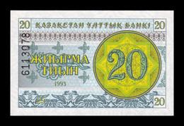 Kazajistan Kazakhstan 20 Tyin 1993 Pick 5b SC UNC - Kazakhstan