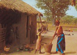L'AFRIQUE EN COULEURS - Préparation Du Repas - Unclassified
