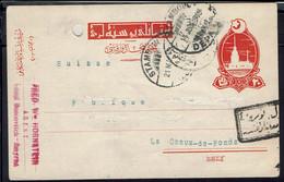 Turquie - Carte Entier Postal De Smyrne, Cachet De Stambouli Du 21 Mai 1918, Pour La Chaux-de-Fonds Suisse - - Covers & Documents