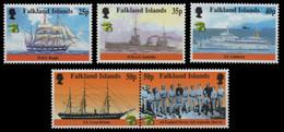 Falkland 1999 - Mi-Nr. 741-745 ** - MNH - Schiffe / Ships - Falkland Islands